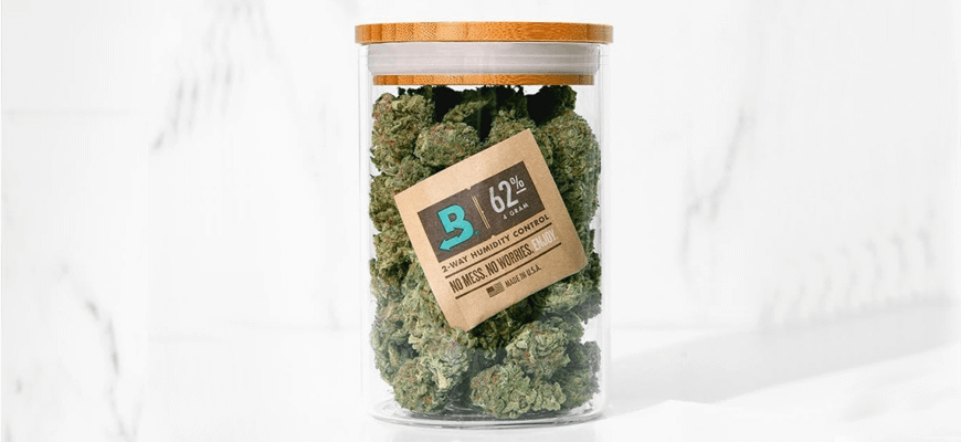Boveda Humidity Control For Cannabis