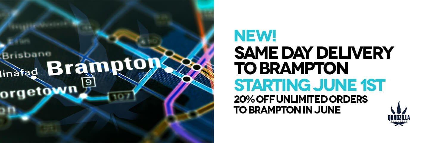Same Day Weed Delivery Brampton - Promotions